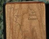 RIVER COQUET River Map Fl...