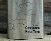TRAIL MAP FLASK - Greenbr...