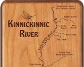 Kinnickinnic River Map Fl...