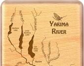 YAKIMA RIVER Map Fly Box ...