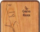 GREYS RIVER Map Fly Box. ...