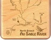 AU SABLE North Branch Riv...