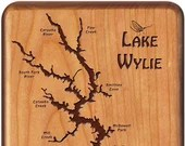 Lake WYLIE River Map Fly ...
