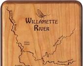 WILLAMETTE RIVER MAP Fly ...