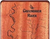 GREENBRIER RIVER Map Fly ...