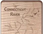CONNECTICUT River Map Fly...