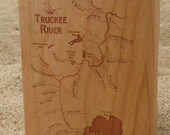 TRUCKEE RIVER Map Fly Box...