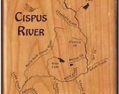 Upper CISPUS RIVER Map Fl...