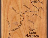SOUTH HOLSTON River Map F...