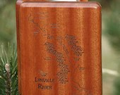LINVILLE RIVER MAP Fly Bo...