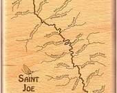 SAINT JOE RIVER Map Fly B...
