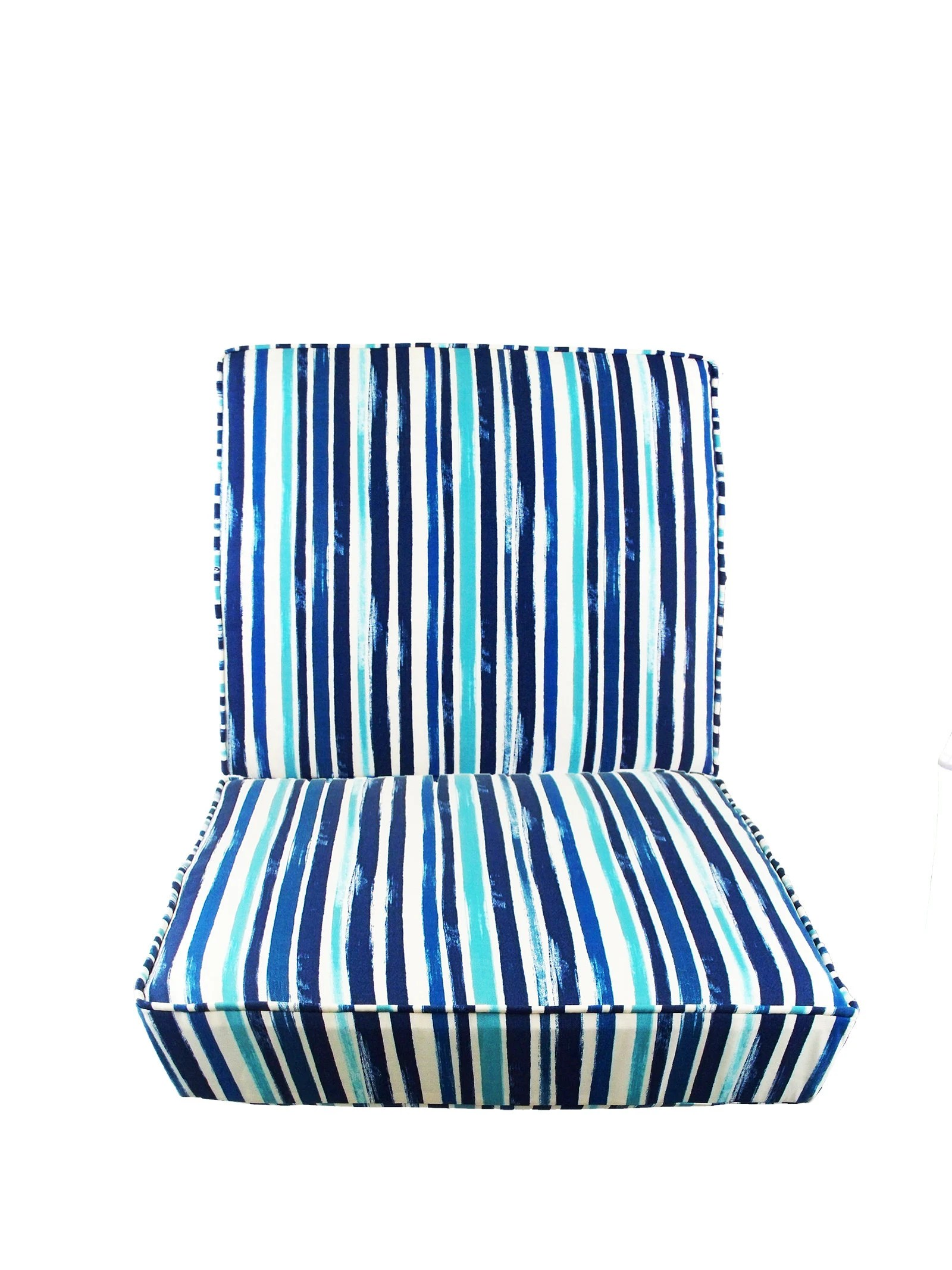 outdoor chair cushions set seat and back cushions pads seat etsy