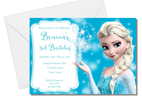 diy editable invitation frozen 2 party invitation print yourself frozen birthday invitation diy frozen party printable invitation elsa