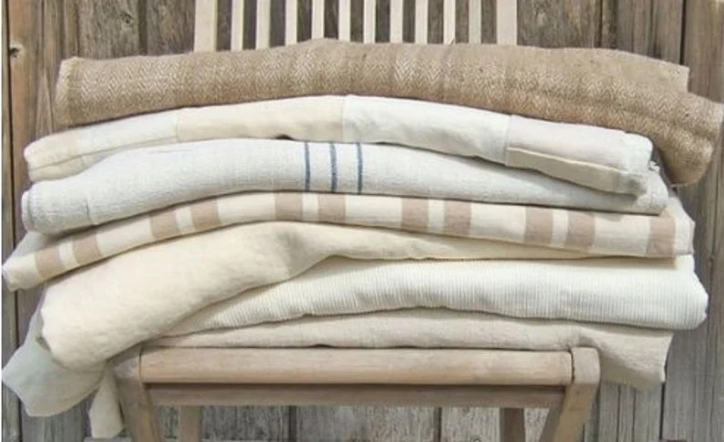 Bulk Cloth Napkins Neutral Tones Set of 4 Set of 6 or Set image 0