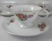 1940s Antique Vintage SGK Occupied Japan  Teacup  and Saucer Nice Japanese tea cup