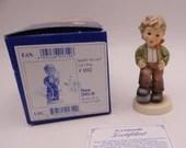 "Mint Vintage Goebel Hummel ""Let's Play"" Figurine - #2051 with Original Box and COA"