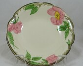 "Vintage 1960s Franciscan Ware ""Desert Rose"" Fruit Dessert Sauce Bowl Made in USA"