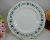 """Vintage Royal Doulton English Bone China Bread and Butter Plate """"Tapestry"""" Pattern  Wedding Bridal"""