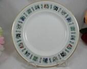 "Vintage Royal Doulton English Bone China Salad Plate ""Tapestry"" Pattern 8 available - Wedding Bridal"