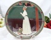 """1986 Edwin Knowles Norman Rockwell """"A Mother's Welcome"""" Collector Plate Limited Edition"""