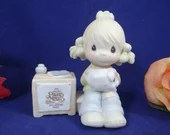 1983 Precious Moments Collectors Club Join in the Blessings  E-0404 Cross Mark