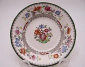 """Near Mint Vintage Spode English Bone China Made in England """"Chinese Rose"""" C1815 Coupe Dessert Sauce Bowl"""