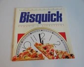 Bisquick Cooking for Today's Lifestyles Recipe Booklet - Recipes for Breakfast to Dinner - Pancakes Scones Muffins Cakes Biscuits Pizza