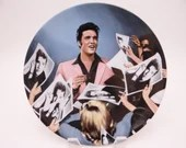 "Vintage Elvis Presley Delphi Looking at a Legend Series ""Stage Door Autographs"" Limited Edition Collector Plate"