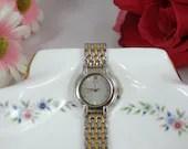 Working 1970s Seiko Dual Tone Ladies watch V701-1791 wristwatch