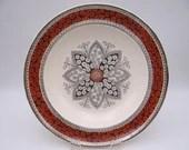 1870s Antique Vintage Copeland English Bone China Hand Painted Serving Bowl - Pattern 1924