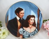 """1991 Gone With the Wind """"A Smitten Suitor"""" Collector Plate Limited Edition - Critics Choice Series"""