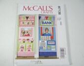 New Uncut FF McCall's Crafts 7136 Pattern  Kids Play Shops Kids Doorway Play Shop Bank Cupcake Play Shop Door Kids Play Room Bedroom