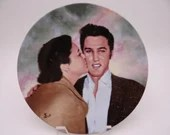 "Vintage Elvis Presley Delphi Looking at a Legend Series ""Elvis and Gladys"" Limited Edition Collector Plate"