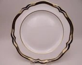 "Near Mint Vintage Spode English Bone China Made in England ""Chancellor Cobalt"" Y8439 Dinner Plate"