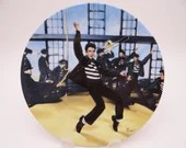 "Vintage Elvis Presley Delphi Looking at a Legend Series ""Jailhouse Rock"" Limited Edition Collector Plate"