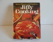 1967 Better Homes and Gardens Jiffy Cooking Cookbook for Family Dinners Casseroles Salads and Vegetables a Mid Century Cookbook Cook Book