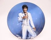 "Vintage Elvis Presley Delphi Performance Collection Series ""King of Las Vegas"" Limited Edition Collector Plate"