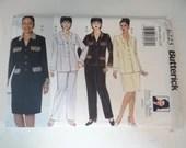Vintage Butterick Pattern #6223 Size 28W 30W 32W Delta Burke Design Women's Pant Suit Skirt Suit - Formal or Casual