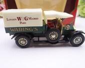 MIB Vintage Lensey Matchbox Y-13 Models of Yesteryear 1918 Crossley Warings Truck Diecast Car in Original Box