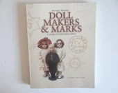 """Vintage """"Antique Traders Doll Makers & Marks - A Guide To Identification"""" by Dawn Herlocher Softcover Reference Book"""