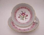 """1950s Vintage Royal Cauldron """"Jesdon"""" English Teacup and Saucer Set Pretty English Tea cup"""