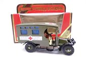 "MIB Vintage Lesney Matchbox Y-25 Models of Yesteryear ""Red Cross"" 1910 Renault Ambulance Diecast Car in Original Box"