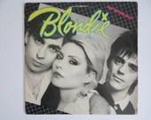 "Vintage 1979 Chrysalis Records Blondie ""Eat to the Beat"" CHE 1225 Vinyl LP Record Album New Wave Pop Rock"