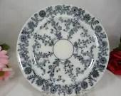 "1850 to 1867 Antique Copeland Spode English Bone China ""Delphi Gray' plate"