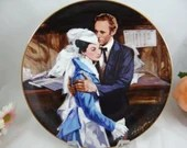 """1989 Golden Anniversary of Gone With the Wind """"A Question of Honor"""" W J George Collector Plate Limited Edition"""