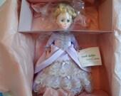 "NIB Madame Alexander First Lady Doll 1421 ""Lucretia Garfield"" with Original Tag and Box"