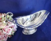Gorgeous International Silver Company Rogers Bros Silverplate Neptune Gravy Boat - Gorgeous