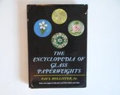 """Vintage """"Encyclopedia of Glass Paperweights"""" by Paul Hollister Hardcover Reference Book"""