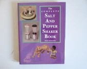 """Vintage Hardcover Reference Book """"The Complete Salt and Pepper Shaker Book"""" by Mike Schneider"""