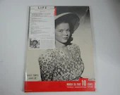 March 30, 1942, Life Magazine - Shirley Temple Grows Up - War Issue